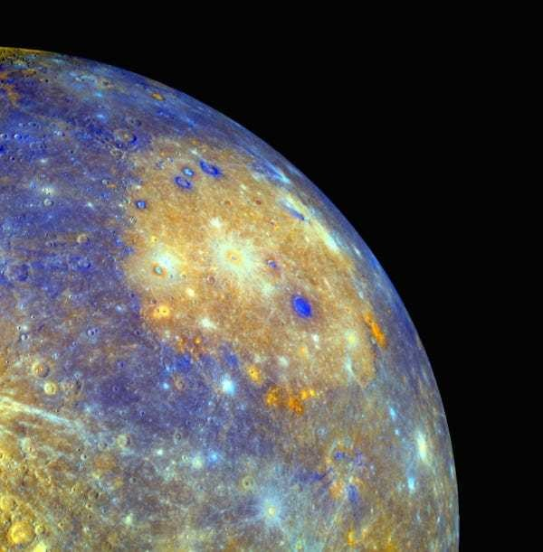 Epically detailed photos of Mercury - Business Insider