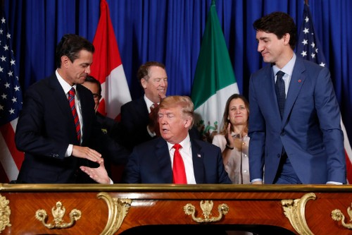 Trump trade NAFTA: USMCA moves closer to ratification