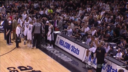 Tim Duncan And Gregg Popovich Fought Like A Married Couple During Game 4