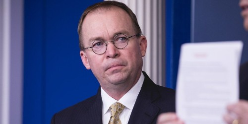 Trump's chief of staff Mick Mulvaney just admitted Republicans are total hypocrites on cutting the federal deficit   Markets Insider