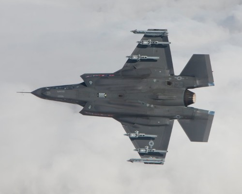 Two F-35s have been deployed to Bulgaria