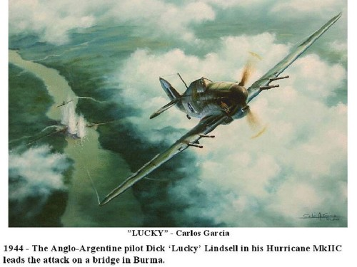This stunning combat art reveals what aerial warfare was like during World War II