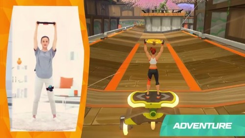 Nintendo wants to make exercise fun again with this successor to Wii Fit on the Switch