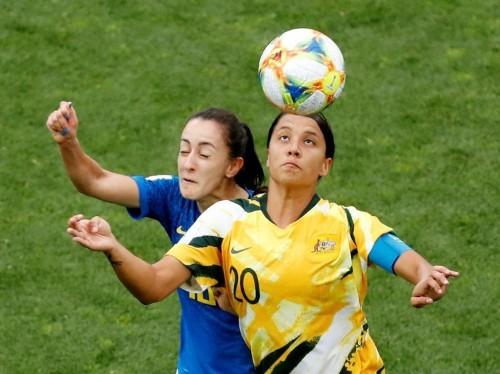Sam Kerr warns Australian women's team critics after wild win