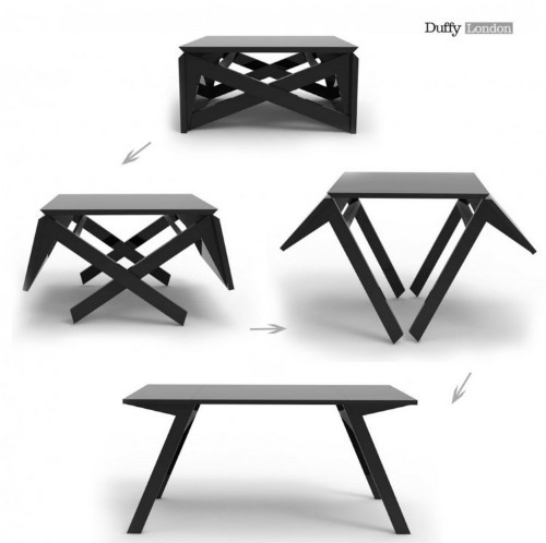Tiny Apartment Dwellers Will Love This Coffee Table That Converts To A Kitchen Table In Seconds