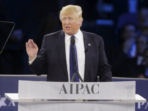 Donald Trump just gave a major speech aiming to silence his foreign-policy critics