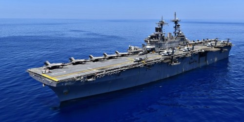Marines test 'Lightning carrier' concept in the South China Sea