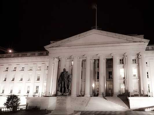USA POSTS BIGGEST MONTHLY BUDGET SURPLUS IN FIVE YEARS