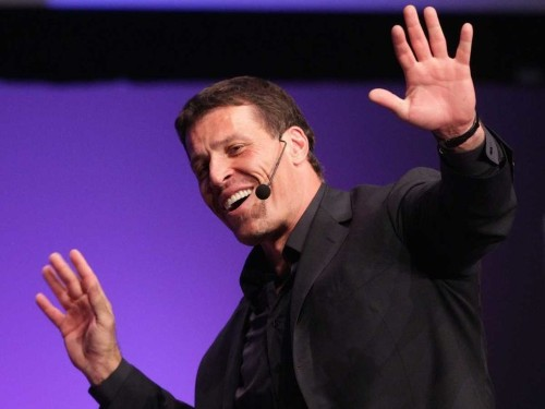 Tony Robbins says he always does the same thing after making a big decision