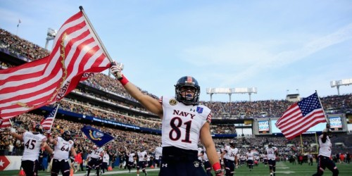 11 photos of hilarious traditions of the historic Army-Navy game