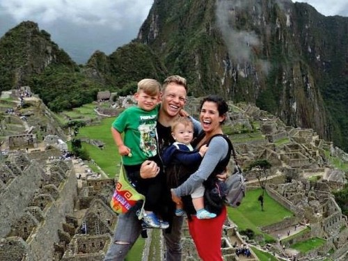 How living out of suitcases for 2 years, through 5 countries, helped one family pay over $30,000 of debt