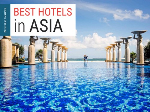 The 34 best hotels in Asia