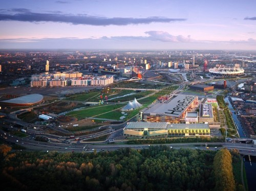 One of the UK's biggest ever tech hubs is set to open within months at the London Olympic Park