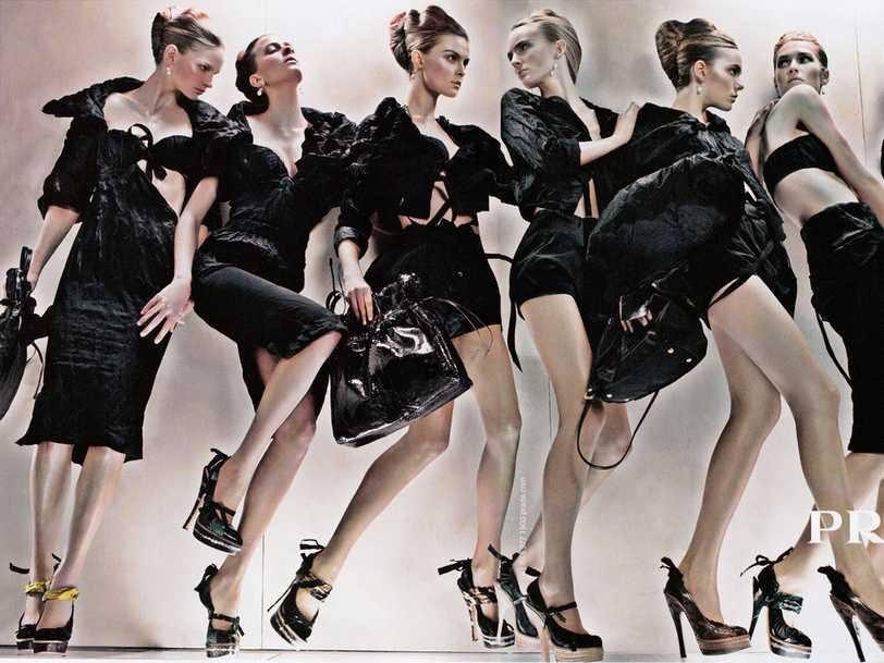 Fashion business  - Magazine cover