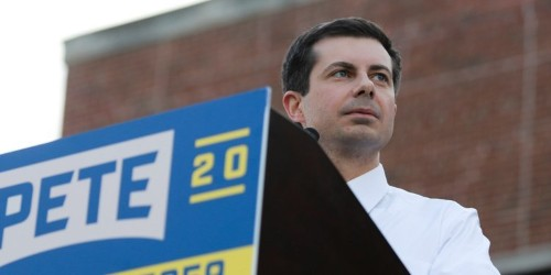 Pete Buttigieg shrugged off anti-gay protesters yelling at him about Sodom and Gomorrah: 'The condition of my soul is in the hands of God, but the Iowa caucuses are up to you'