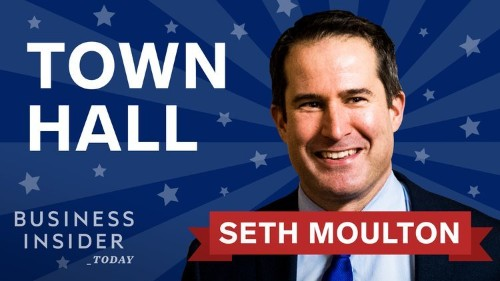 Democratic candidate Seth Moulton joins Business Insider Today for a live town hall — here's how to watch