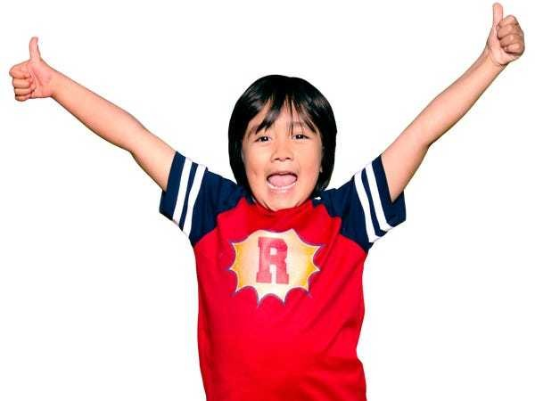 8-year-old YouTube star of Ryan ToysReview made $22 million in a year - Business Insider