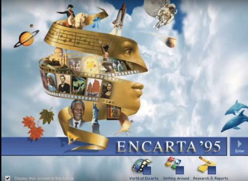 Microsoft had a secret, genius reason for making an encyclopedia in the nineties