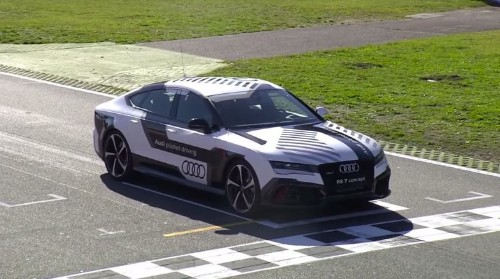 This Audi Can Drive Itself — And Drive Itself FAST!