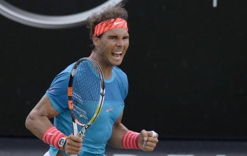 Nadal lines up history on Stuttgart grass