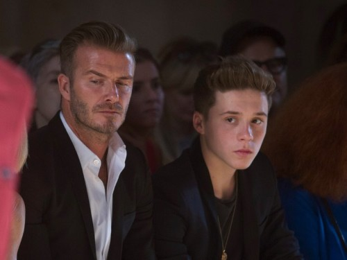 David Beckham's oldest son no longer wants to play soccer, and the reason why broke his dad's heart