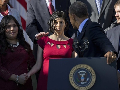 Meet Karmel Allison, The Woman Who Fainted Behind President Obama Today
