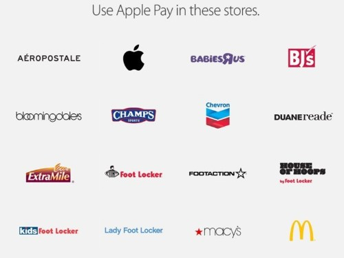 Here Are All The Places That Accept Apple Pay