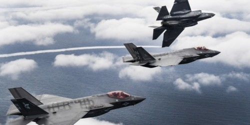US Air Force F-35s wrecked their enemies in mock air combat — even the new pilots were racking up kills