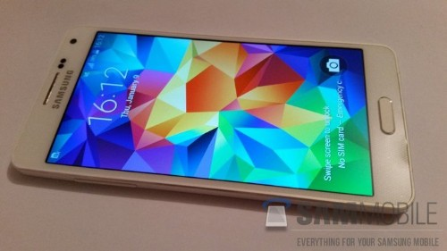 Here's Your First Look At What May Be Samsung's Next Metal Galaxy Phone