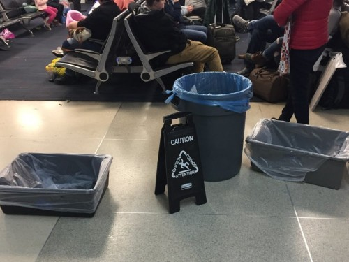 I flew out of the most hated airport in the US — here's what I saw