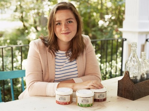 This 17-year-old wanted a healthy alternative to peanut butter, and now she's a nut-butter entrepreneur
