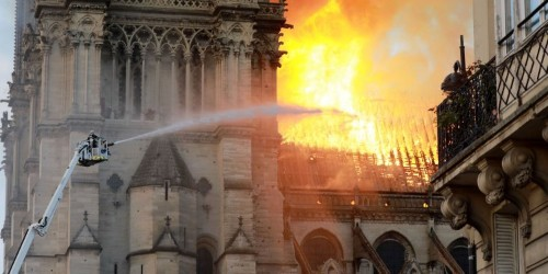 The Paris Fire Brigade held 2 trainings last year to prepare for a possible fire at Notre-Dame