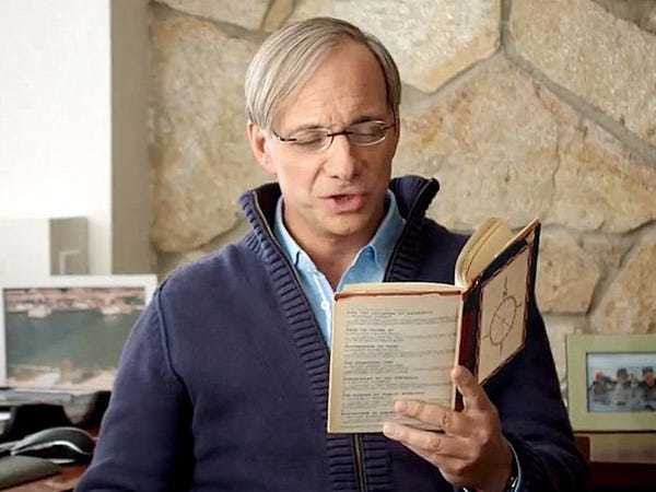 Ray Dalio of Bridgewater thinks everyone should read these 3 books - Business Insider