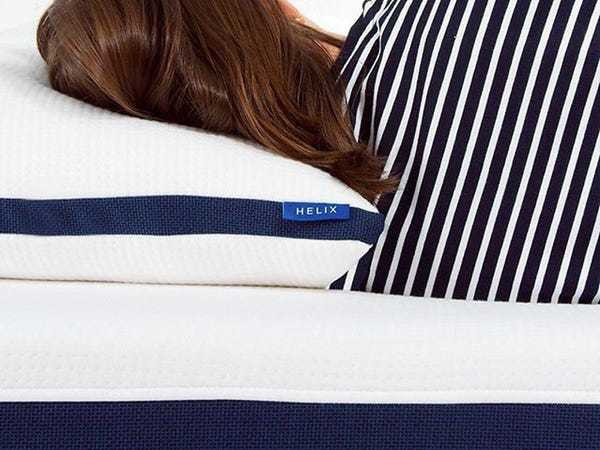 The Helix Pillow is the only one I've slept on that's literally cool to the touch — and ... - Business Insider