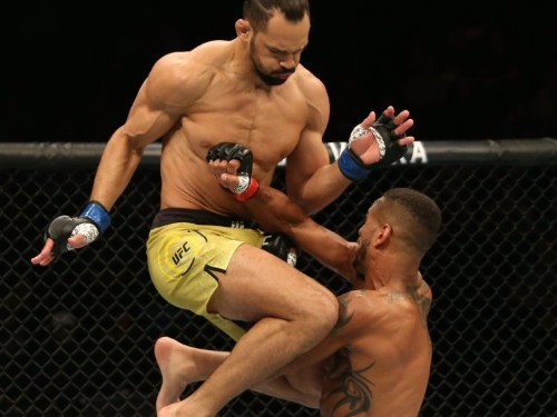 VIDEO: Michel Pereira's UFC debut like something out of Mortal Kombat