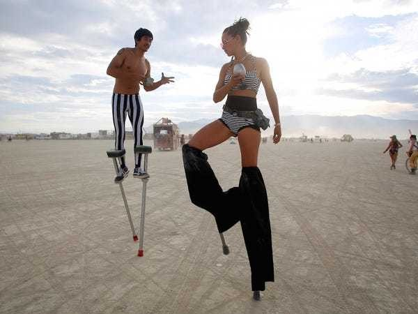 These were the ultra-wealthy people spotted at Burning Man 2019