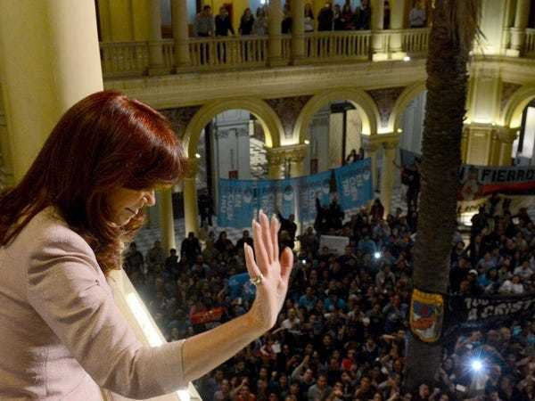 The ghost of Argentina is haunting Greek debt talks - Business Insider
