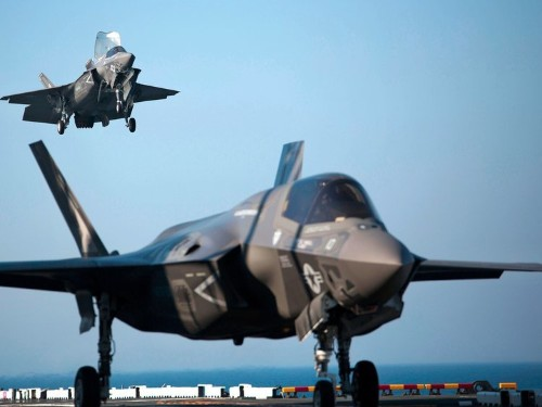 The first F-35 squadron is ready for combat, according to the Marines