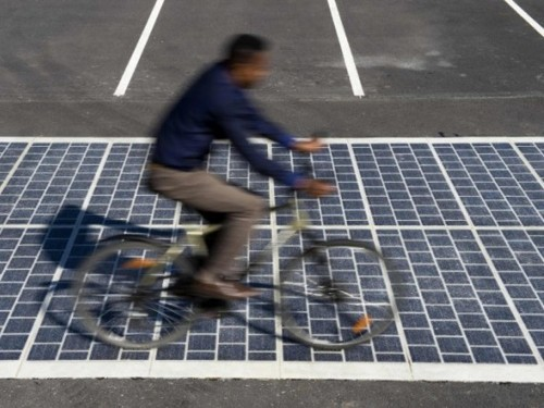 France plans to install 621 miles of solar-paneled roads by 2020