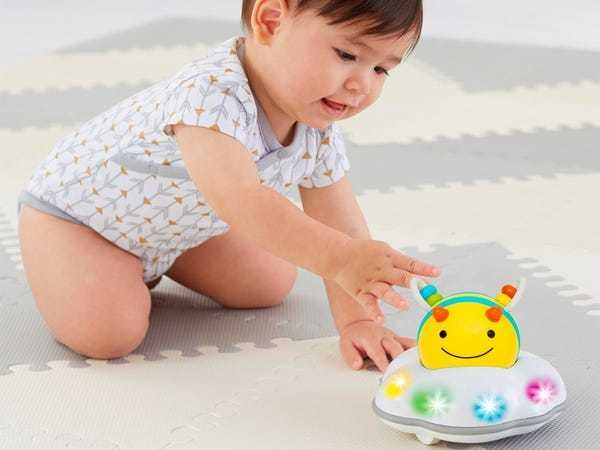 Skip Hop Explore and More Bee Crawl Toy encourages babies to crawl & more - Business Insider