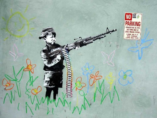 The Most Iconic Banksy Works Of All Time - Business Insider