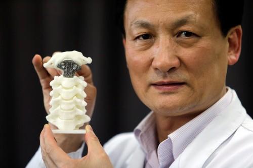 This 3D Printed Vertebra Is A Huge Step Forward For Medicine
