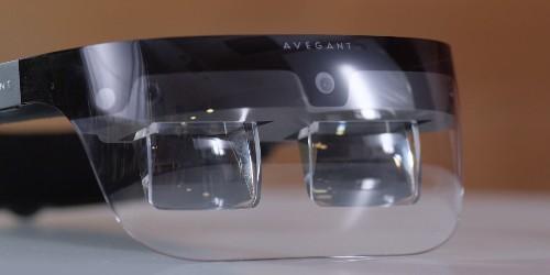 Avegant 'light field' AR prototype headset video