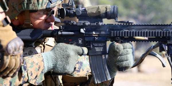 The Marine Corps' new rifle is super expensive — and nobody knows why - Business Insider