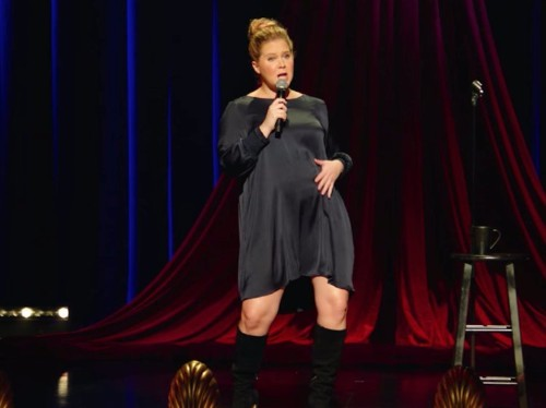 Amy Schumer is married and pregnant in her new Netflix comedy special, but that hasn't made her any more precious about those things