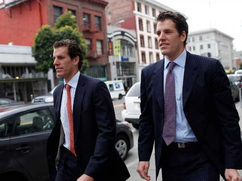 The Winklevoss twins have seen about $600 million wiped off their bitcoin wealth in 2 days (FB)