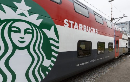 There's Now A Starbucks Store On A Train