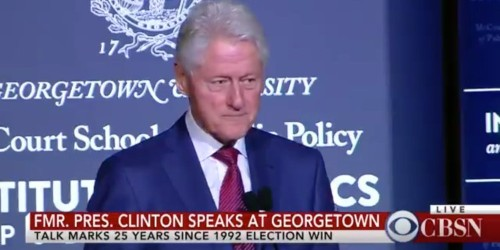 Bill Clinton takes a dig at Trump, becoming 3rd former president in 3 weeks to speak out on his presidency