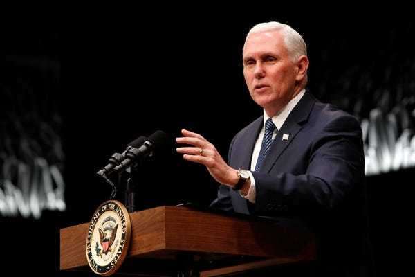 Mike Pence said being gay was 'a choice' or a 'learned behavior' - Business Insider