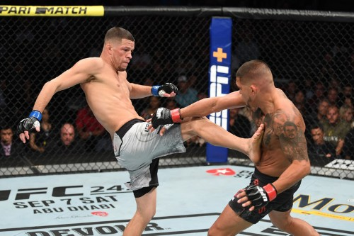Nate Diaz completely outclassed Pettis, wants Jorge Masvidal next